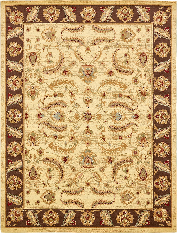 Cream 10 X 13 Classic Agra Rug Esalerugs