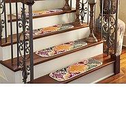 Link to 0' 9 x 2' 6 Casablanca Stair Tread Rug