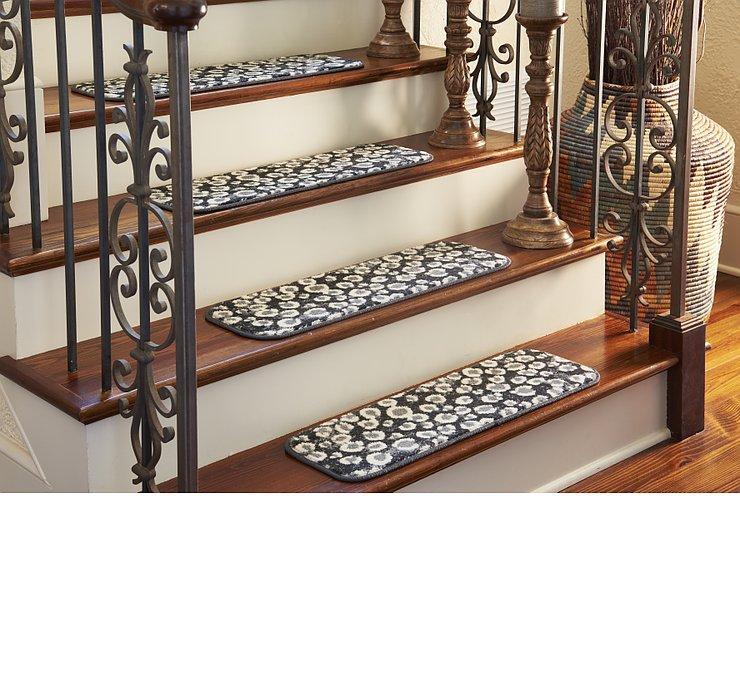 23cm x 75cm Safari Stair Tread Rug