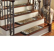 Link to 0' 9 x 2' 6 Safari Stair Tread Rug