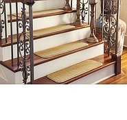 Link to 0' 9 x 2' 6 Solid Stair Tread Rug