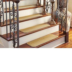 Unique Loom 0' 9 x 2' 6 Solid Stair Tread Rug