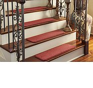 Link to Unique Loom 0' 9 x 2' 6 Solid Stair Tread Rug