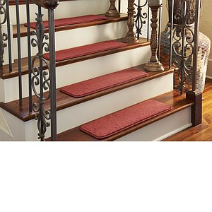 Unique Loom 0' 9 x 2' 6 Solid Stair Tread Rug