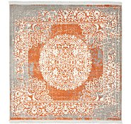 Link to 122cm x 122cm New Vintage Square Rug