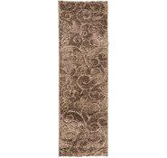 Link to 2' x 6' 7 Floral Shag Runner Rug