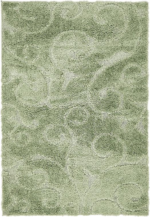 Green 4 X 6 Floral Shag Rug Area Rugs Irugs Uk