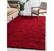 Link to Unique Loom 4' x 6' Floral Shag Rug