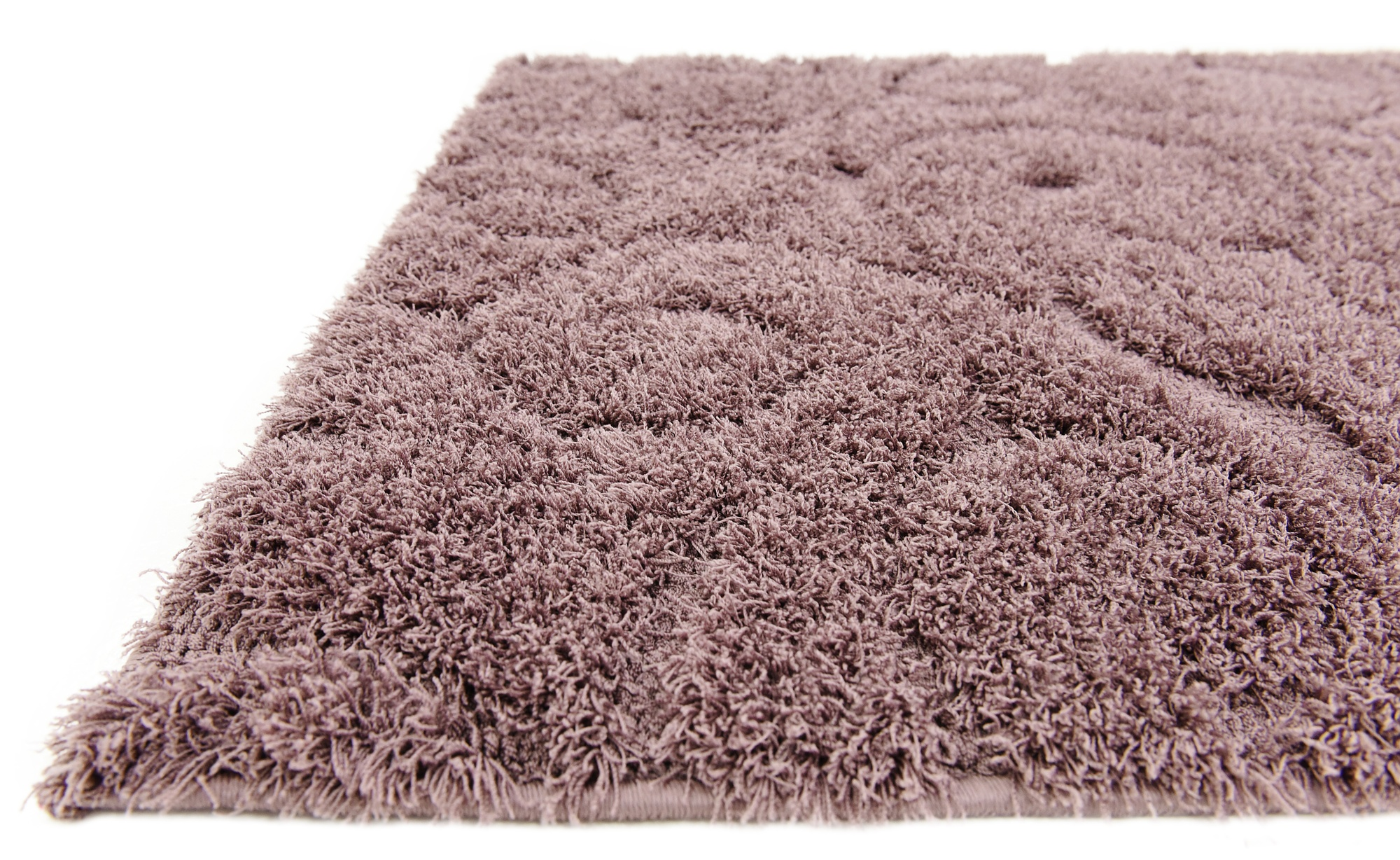 Modern Area Rug Shaggy Small Carved Carpet Plush Style
