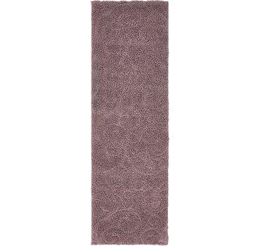 61x201 Floral Shag Rug
