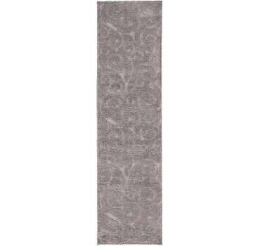 79x305 Floral Shag Rug