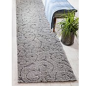 Link to Unique Loom 2' x 6' 7 Floral Shag Runner Rug