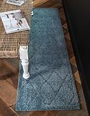 2' x 6' 7 Lattice Shag Runner Rug thumbnail image 1