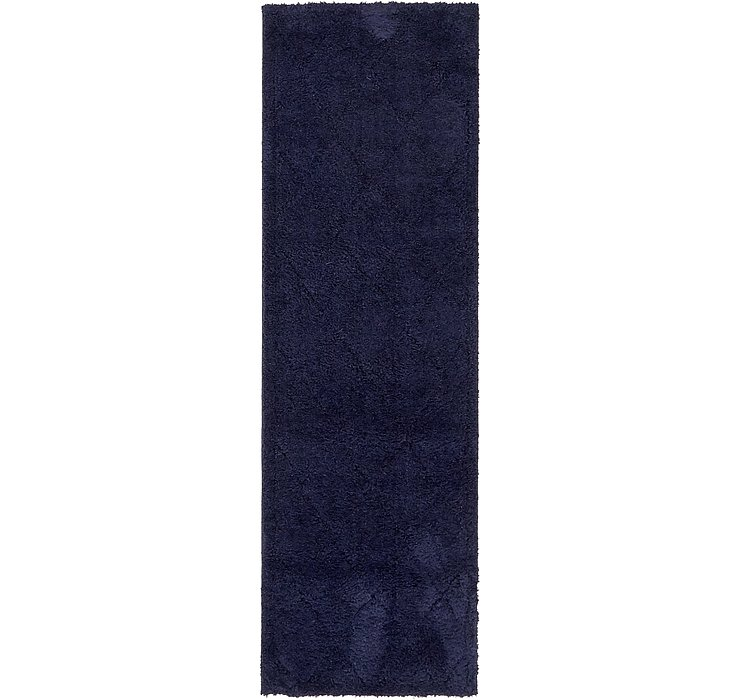 2' x 6' 7 Trellis Shag Runner Rug
