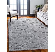 Link to Unique Loom 4' x 6' Trellis Shag Rug