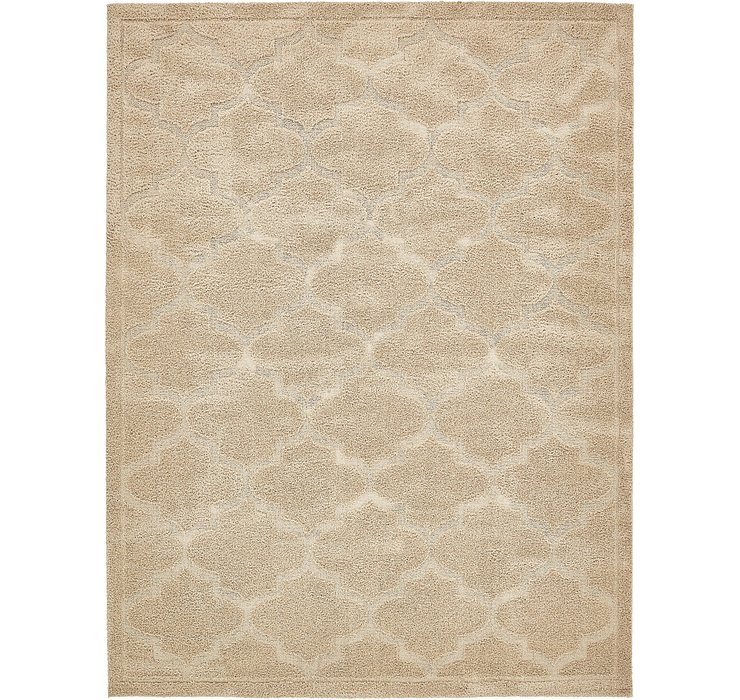 9' x 12' Lattice Shag Rug