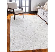 Link to Unique Loom 5' x 8' Trellis Shag Rug