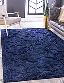 5' x 8' Lattice Shag Rug thumbnail image 1