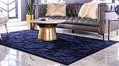 5' x 8' Lattice Shag Rug thumbnail image 2