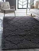 8' x 10' Lattice Shag Rug thumbnail image 1