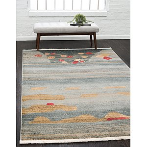Unique Loom 5' x 8' Fars Rug