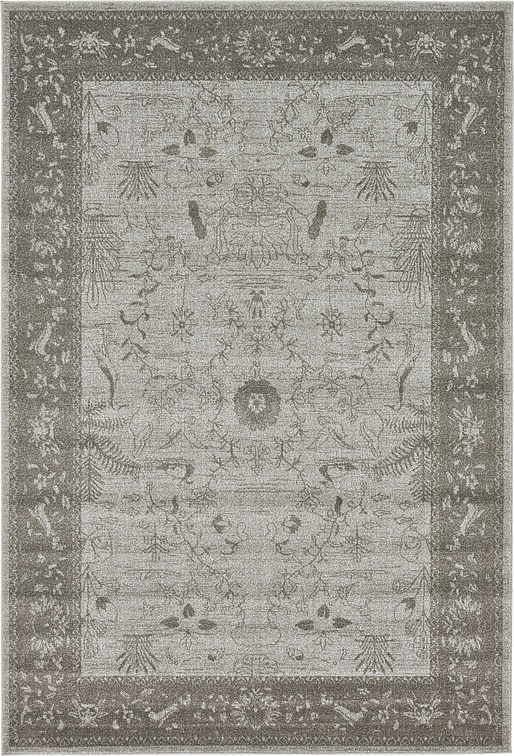 Light Gray 6 X 9 Vista Rug Area Rugs Esalerugs