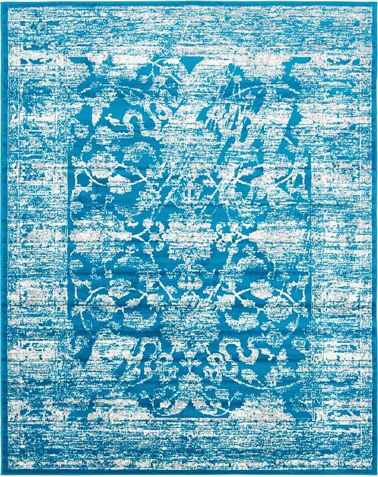Turquoise 8u0026#39; x 10u0026#39; Courtyard Rug : Area Rugs : eSaleRugs