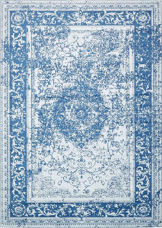 Blue 10u0026#39; x 14u0026#39; Courtyard Rug : Area Rugs : eSaleRugs
