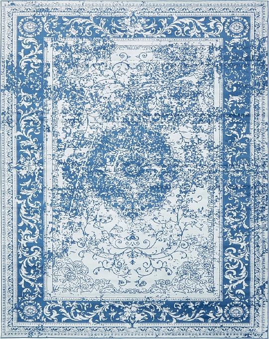 Blue 8u0026#39; x 10u0026#39; Courtyard Rug : Area Rugs : eSaleRugs