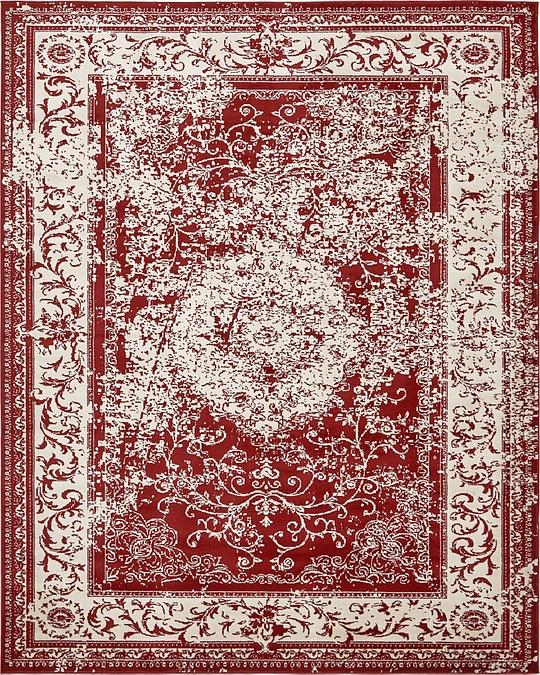 Burgundy 8u0026#39; x 10u0026#39; Courtyard Rug : Area Rugs : eSaleRugs