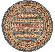 Link to 3' 3 x 3' 3 Kashkuli Gabbeh Round Rug