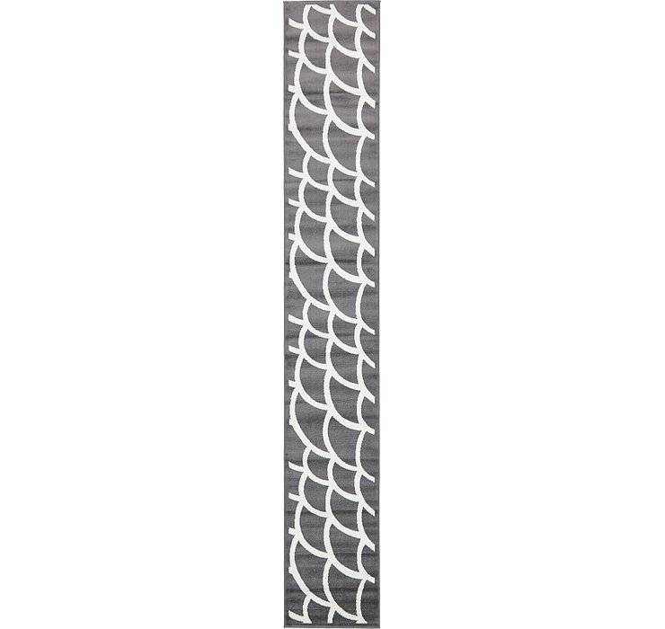 Gray Sydney Runner Rug