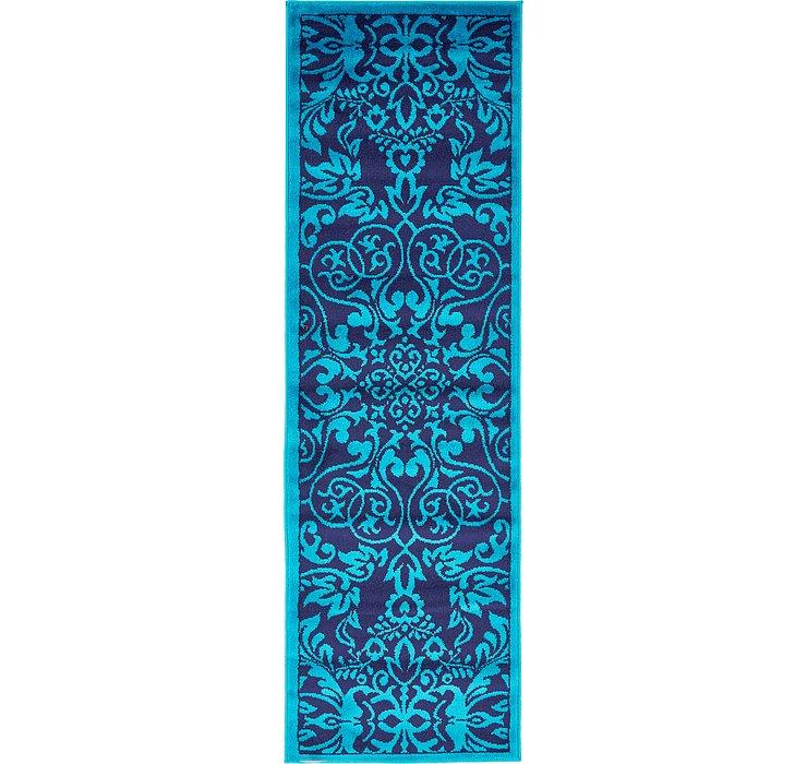 Turquoise Sydney Runner Rug
