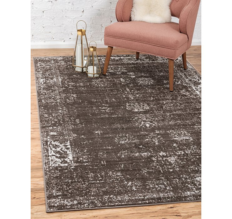 Brown Monte Carlo Rug