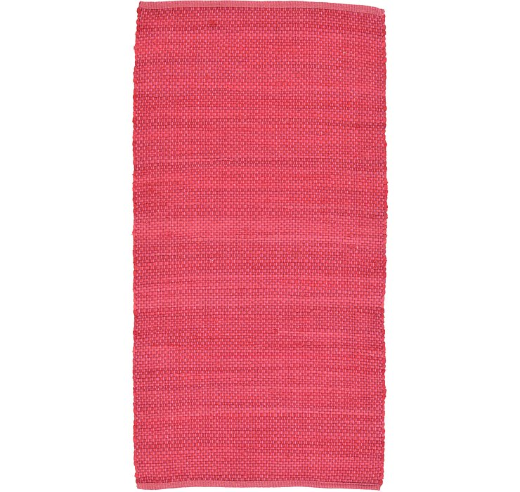 Pink Kilim Dhurrie Rug