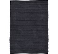 Link to 4' x 5' 7 Solid Shag Rug