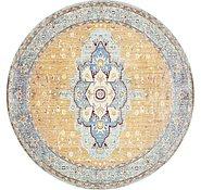 Link to 8' x 8' Aqua Round Rug