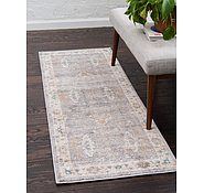 Link to Unique Loom 2' 7 x 10' Salzburg Runner Rug