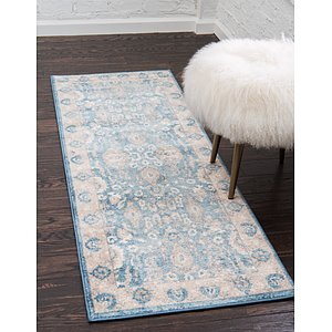 Unique Loom 2' x 6' Salzburg Runner Rug