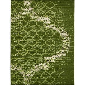 9x12 Green Vintage  Rugs!