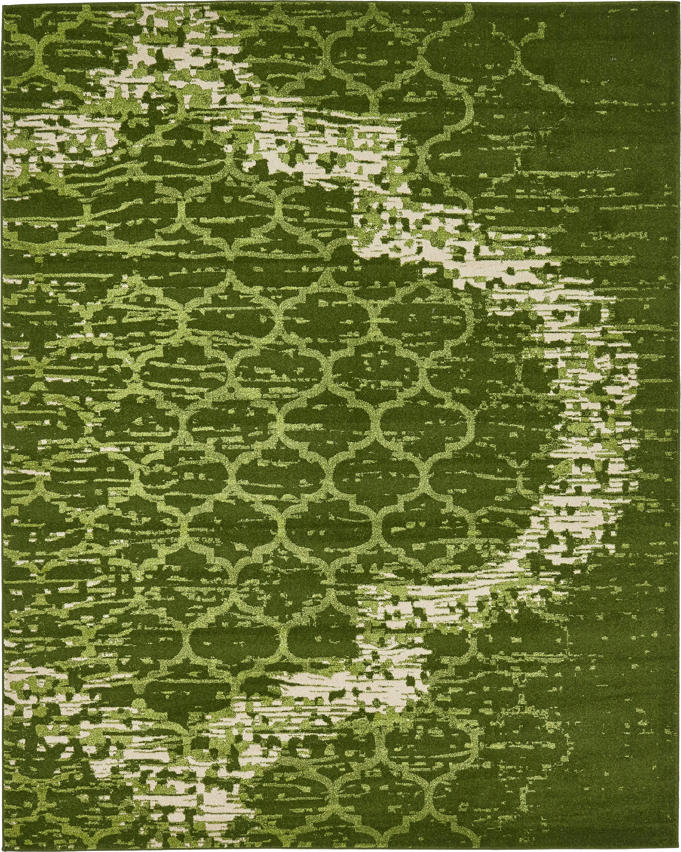 Green 8 X 10 Trellis Rug Esalerugs