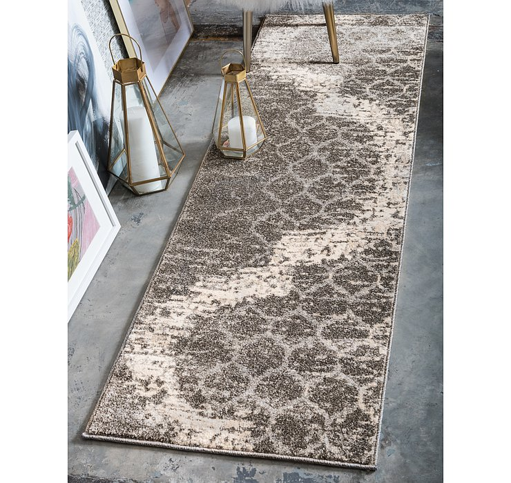 2' x 6' Lattice Runner Rug