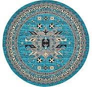 Link to 245cm x 245cm Heriz Design Round Rug