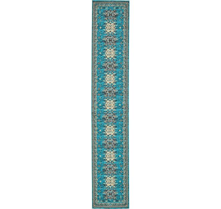 3' x 16' 5 Heriz Design Runner Rug