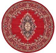 Link to 8' x 8' Mashad Design Round Rug