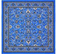 Link to 245cm x 245cm Kashan Design Square Rug