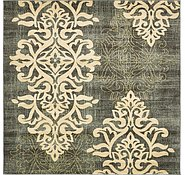 Link to 8' x 8' Damask Square Rug