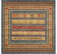 Link to 8' x 8' Kashkuli Gabbeh Square Rug