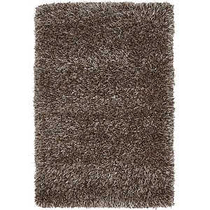 2×3 Brown Solid Frieze  Rugs