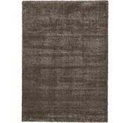 Link to 8' x 11' 4 Luxe Solid Shag Rug
